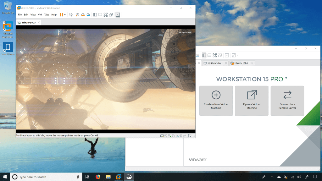 directx 10 vmware