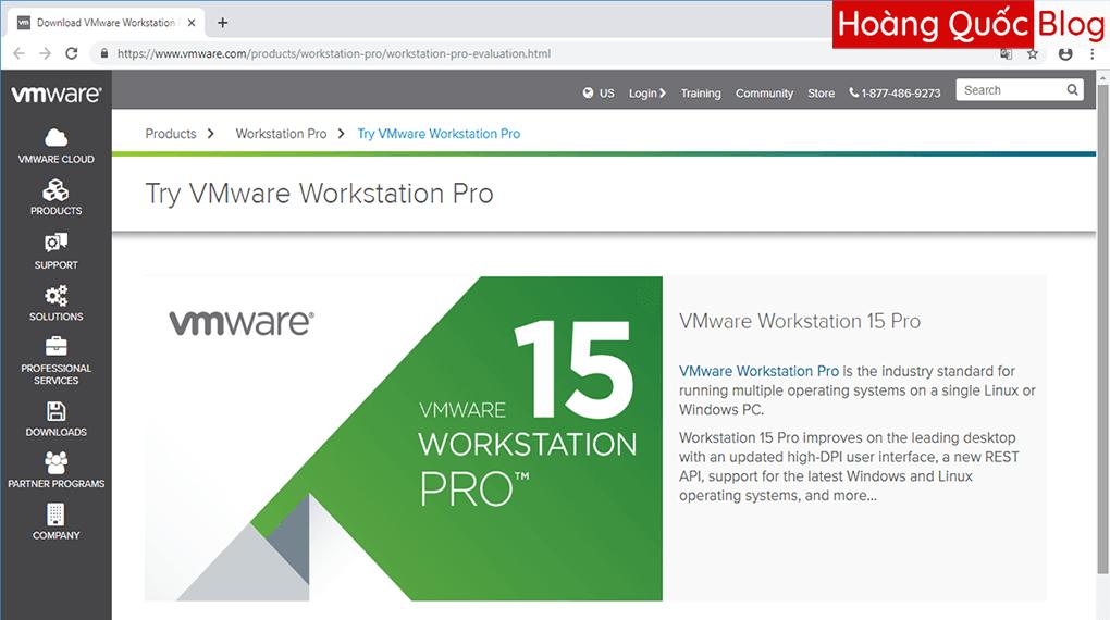 Download VMWARE Workstation Pro 15 – Phần Mềm Tạo Máy Ảo Chuyên Nghiệp